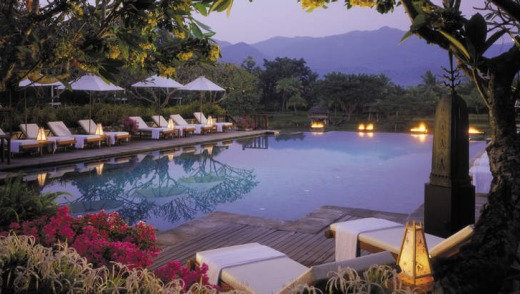 The Four Seasons in Chiang Mai. The area is currently enjoying a hotel occupancy rate of 95 per cent.