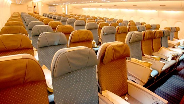 Which airline offers the widest economy class seats?