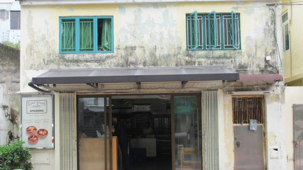 The destination: Lord Stow's bakery, opened by an Englishman, on Coloane Island, Macau.