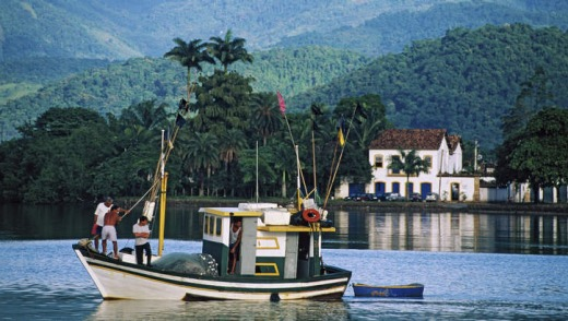 Historic Paraty village.