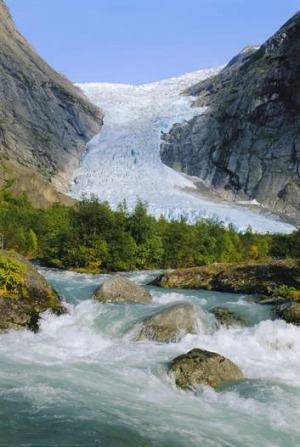 The spectacular Briksdalsbreen.