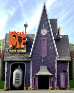 The <i>Despicable Me</i> ride.