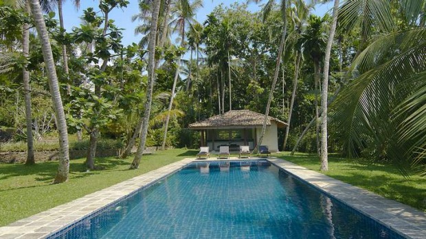 Holiday delights: Ivory House's 20-metre pool.