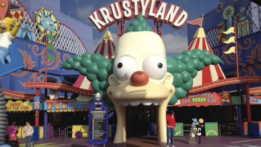 Krustyland becomes The Simpsons ride.