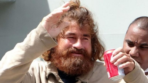 A few weeks ago: castaway Jose Salvador Alvarenga arrived in the Marshall islands after over one year at sea.