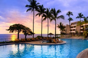 The Sheraton Kona Resort and Spa at Keauhou Bay, Big Island.