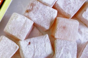 Haci Bekir, the world's first Turkish delight shop., has expanded its range to include new flavours, such as pistachio.