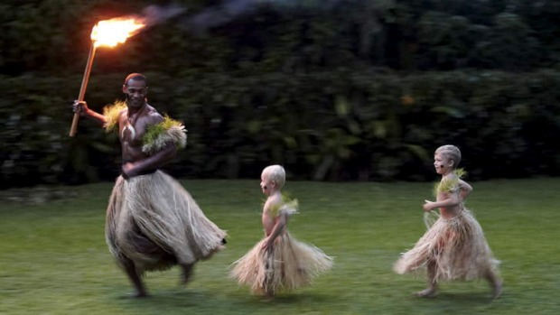 Variety: a taste of culture at the Sofitel resort in Fiji.