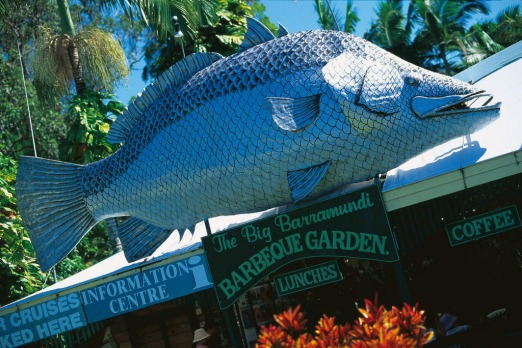 The Big Barramundi at the Daintree. Picture: Tourism and Events Queensland.