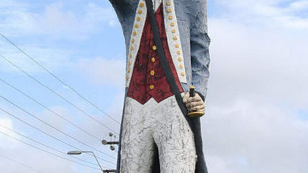 The Big Captain Cook at Cooktown. Picture: Wikipedia.