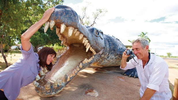 Normanton The Big Crocodile at Normanton. Picture: Tourism and Events Queensland.