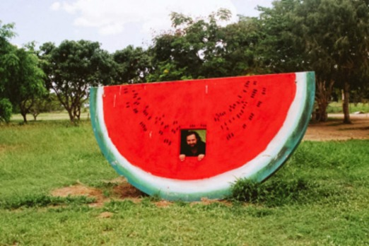 The Big Watermelon at Gumlu. Picture: Wikipedia