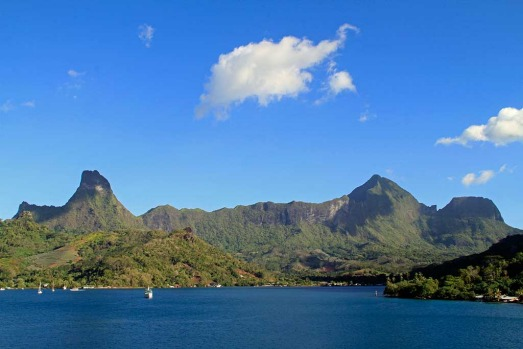 Mo'orea, French Polynesia.
