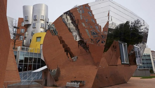 Stata centre at Boston's MIT.