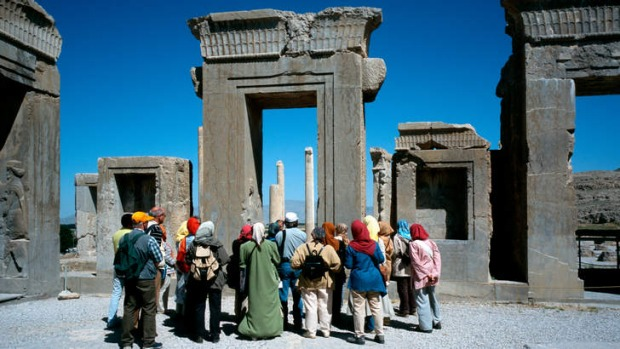 Cultural connections: Persepolis near the Iranian city of Shiraz.
