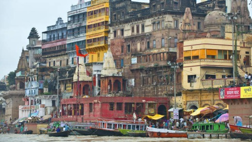 Holy city: Varanasi can overwhelm.