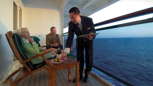 The cruise director the queen mary 2 for High end cruise lines