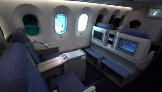 Flight Test China Southern Airlines Dreamliner Business Class
