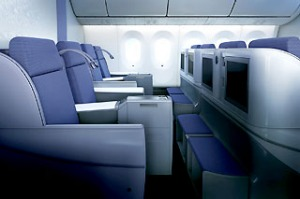 China Southern Business Class Dreamliner