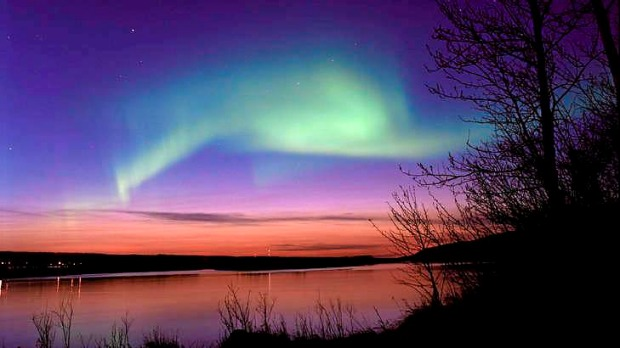 Alberta northern lights.
