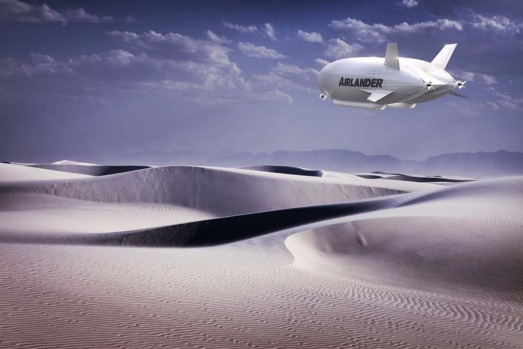 "the helium-filled HAV 304 ""Airlander"" is a cross between an airship, a plane, a helicopter and a hovercraft. It can stay ..."