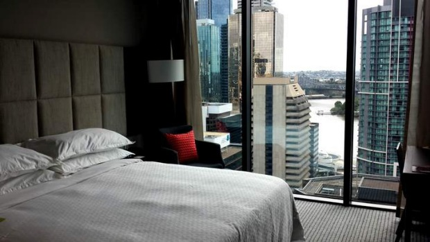 The Four Points by Sheraton hotel in Brisbane's CBD.