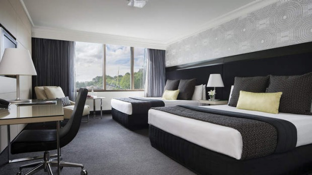 The Pullman Hotel is revitalised under its new name.