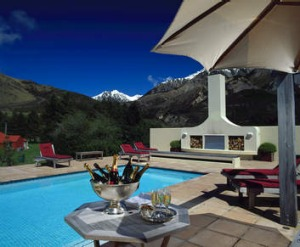 Grasmere Lodge in the Southern Alps.