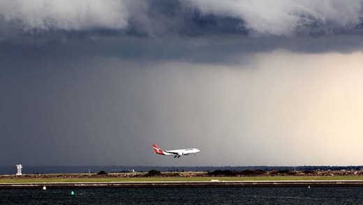 Pilots will normally be able to avoid severe storms by adjusting their flight paths.