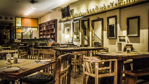 M bar and bistro at The Ranee boutique hotel.