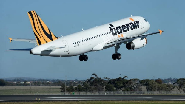 On the up: Tigerair.