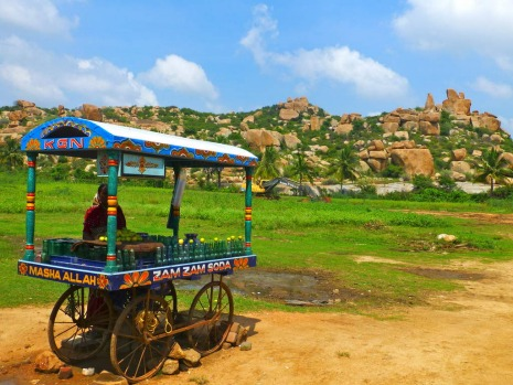 For natural beauty in India, Hampi's where it's at: think rolling fields of acid green grasses covered with thick groves ...
