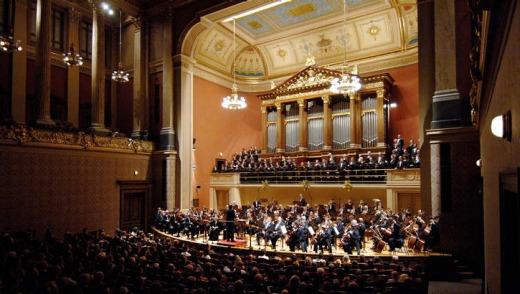 We call it home: The Czech Philharmonic Orchestra at the grand Rudolfinium, in the city's old town hall.
