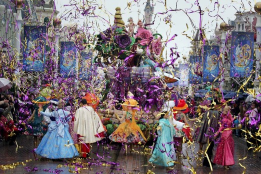 Parade at Paris Disneyland.