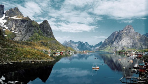 The Lofoten archipelago.