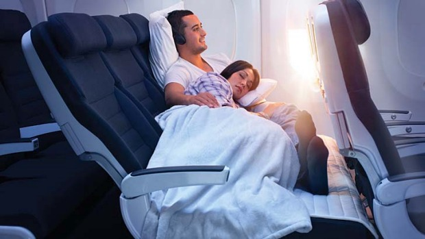 Air New Zealand's 'Skycouch' economy class seat design will soon be taking off in Asia.
