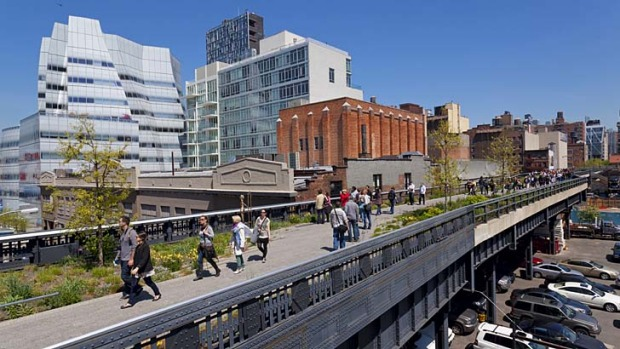 The impact of New York's High Line on surrounding area has been remarkable.