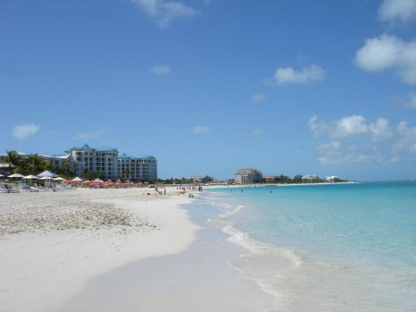 Number 2: Grace Bay, Providenciales, Turks-and-Caicos.