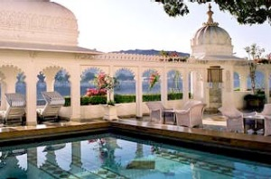 Taj Lake Palace hotel in Udaipur, India