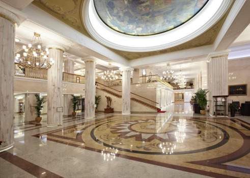 Radisson Royal Hotel, Moscow.