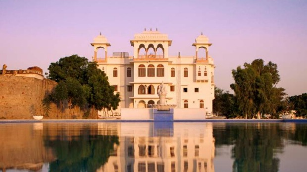 Talabgaon Castle Heritage Resort, Jaipur, India.