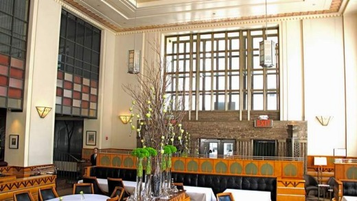 Fine dining at Eleven Madison Park, one of the top 50 restaurants in the world.