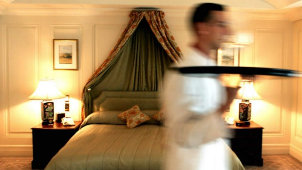 Cities in Scandinavia have the most expensive room service prices in the world.