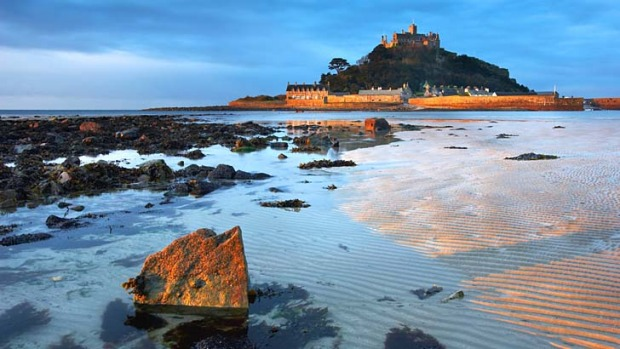 Way out west: St Michaels Mount.
