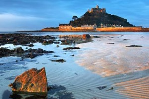 St Michael's Mount, near Penzance, Cornwall, England, UK.