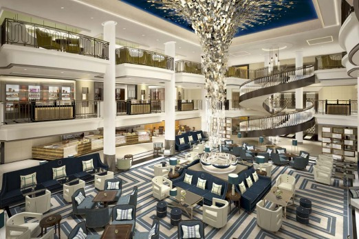 P&O newest ship Britannia brings a modern look and feel to British-style cruising.