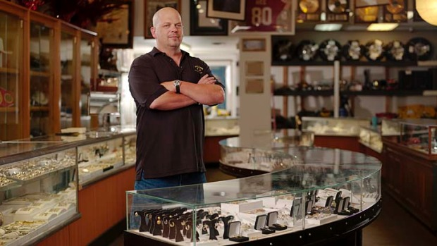 Pawn star ... Gold & Silver Pawn co-owner Rick Harrison.