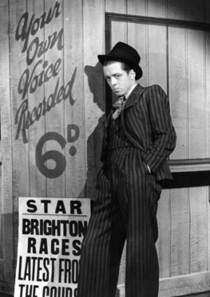 Richard Attenborough plays Pinkie in the stage version of Graham Greene's book <em>Brighton Rock</em>.