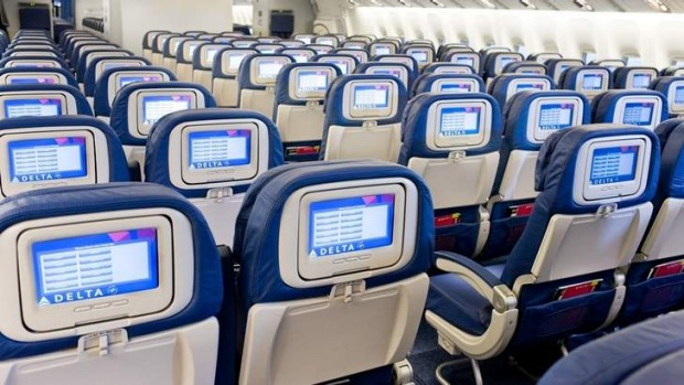 A child was allowed to defecate in his seat by his parents during a Delta Air Lines flight.