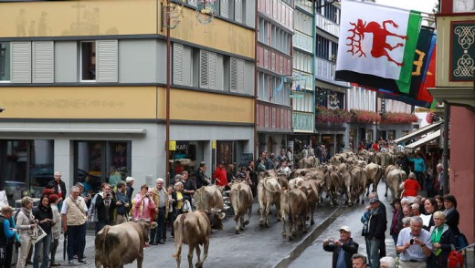 The passage through Appenzell.
